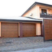 Въездные и гаражные ворота с калиткой